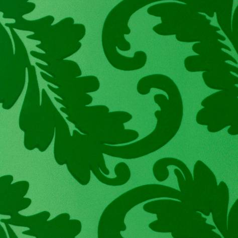 Designers Guild Alexandria Wallcoverings  Ardassa Wallpaper - Emerald - P621/06