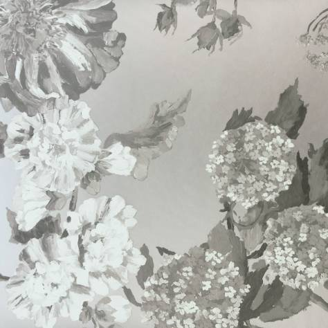 Designers Guild Alexandria Wallcoverings  Alexandria Wallpaper - Graphite - P623/06