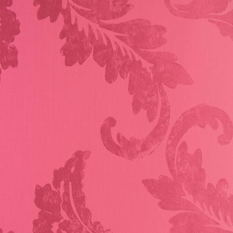 Designers Guild Savine Wallcoverings Aksu Wallpaper - Magenta - P614/06