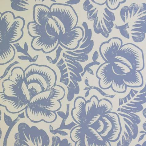 Designers Guild Brera Wallcoverings Rosario Wallpaper - Slate - P592/06