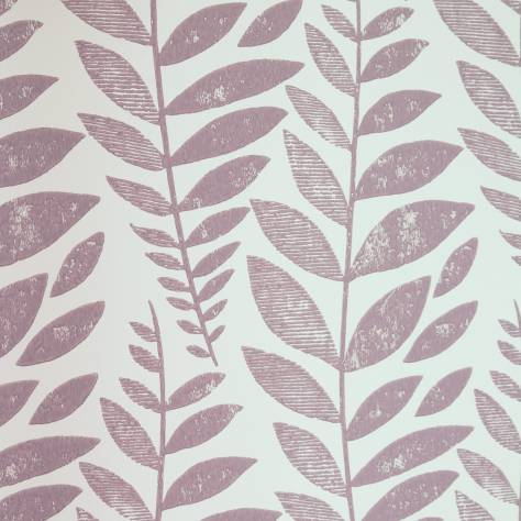 Designers Guild Surabaya Wallcoverings Odhni Wallpaper - Heather - P627/05