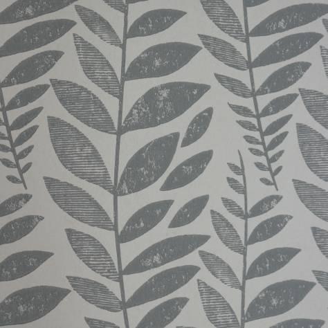 Designers Guild Surabaya Wallcoverings Odhni Wallpaper - Graphite - P627/07