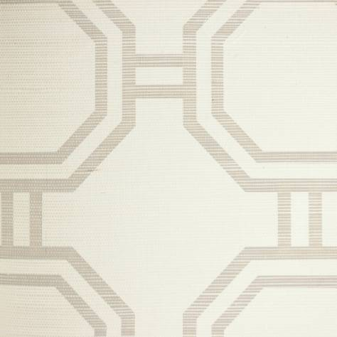 Designers Guild Nash Wallcoverings Ainslie Wallpaper - Ecru - P542/01