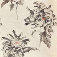 Evelyn Wallpaper - Koi/Vine Black