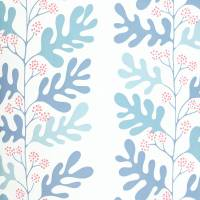 Malmo Wallpaper - Powder Blue/Pink