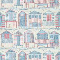 Beach Huts Wallpaper - Nautical