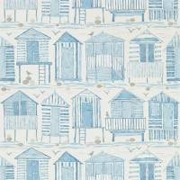 Beach Huts Wallpaper - Marine