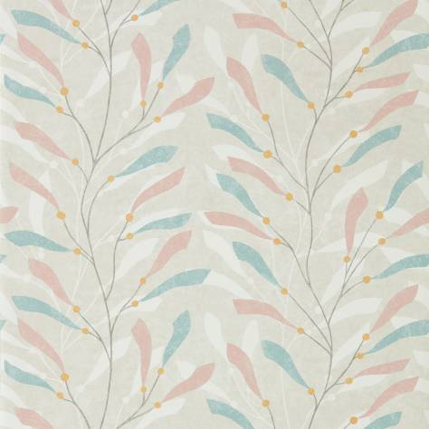 Sanderson Home Port Isaac Wallpapers Sea Kelp Wallpaper - Blush/Stone - 216567