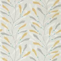 Sea Kelp Wallpaper - Ochre/Slate