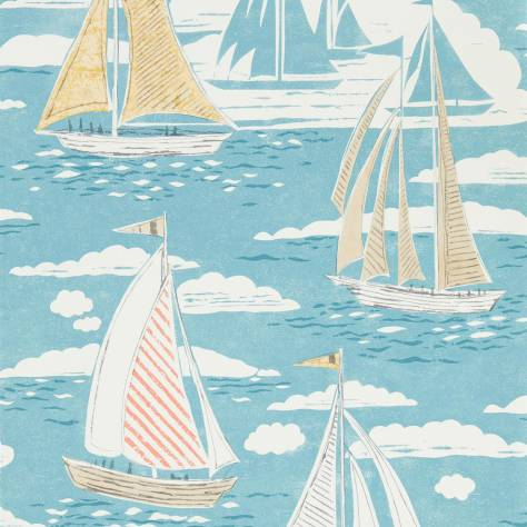 Sanderson Home Port Isaac Wallpapers Sailor Wallpaper - Pacific - 216571