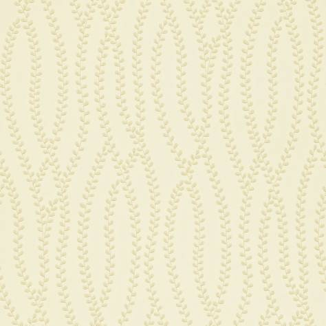 Sanderson Home Maycott Prints Fabrics & Wallpapers Ester Wallpaper - Pearl/Ivory - 211978