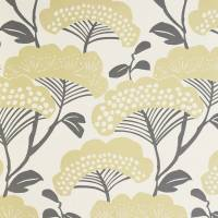 Tree Tops Wallpaper - Gold/Ivory