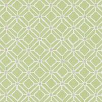 Fretwork Wallpaper - Apple/Taupe
