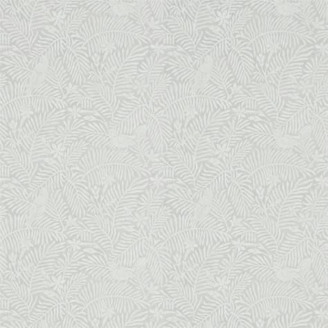 Calico birds wallpaper slate 213732 sanderson home for Wallpaper home fabrics