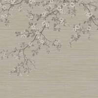 Oriental Blossom Wallpaper - Taupe