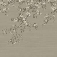 Oriental Blossom Wallpaper - Gold