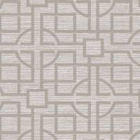 Japanese Trellis Wallpaper - Light Taupe