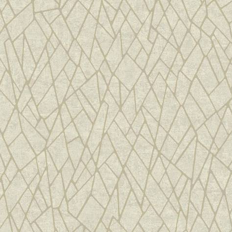 Blendworth Fabrics Evolve Wallpapers - SketchTwenty3 Ice Wallpaper - Iridescent Gold (Beaded) - EV01120