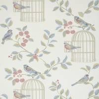 Songbird Wallpaper - Eau De Nil