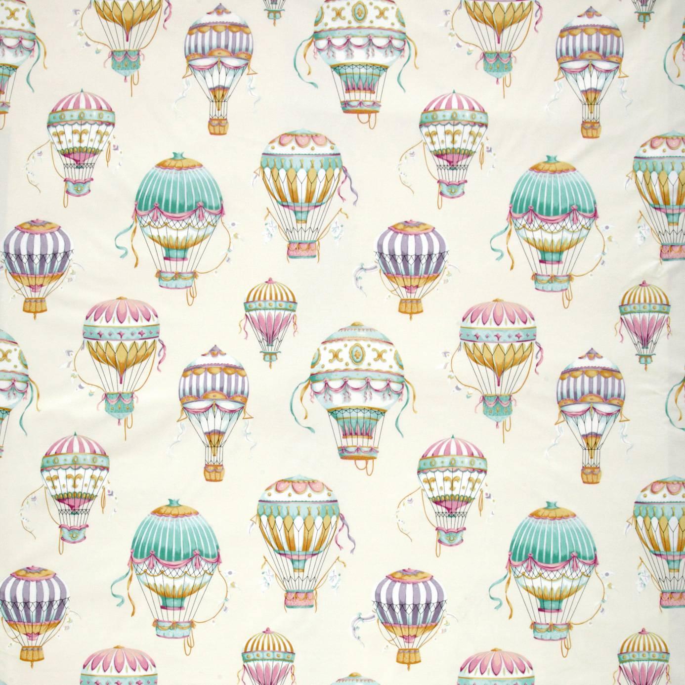 ILiv Floral Pavilion Aqua Fabrics Wallpapers Balloons Wallpaper
