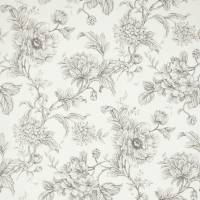 Aquitaine Wallpaper - Charcoal