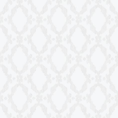 Casadeco So White 2 Ornement Rayure Wallpaper - 20550113