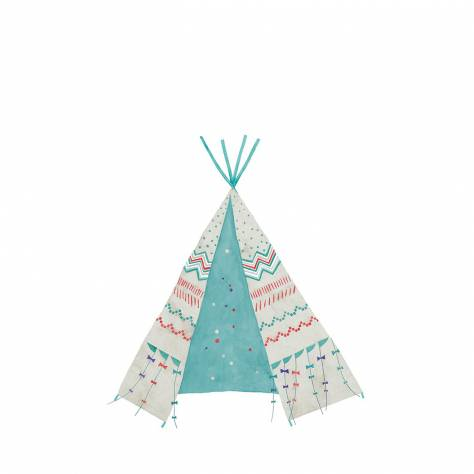Casadeco Arc En Ciel Tipi Panoramic Wallpanel - Blue - 25576162