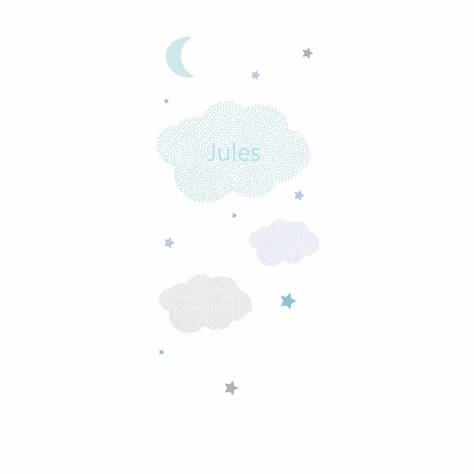 Casadeco Arc En Ciel Nuages Panoramic Wallpanel (Personalised) - Blue - 25796100