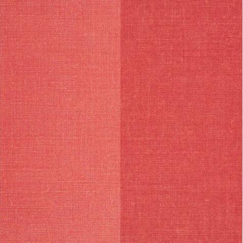 Casadeco Bahia Wallpapers Rayure Wallpaper - Red - 26578128