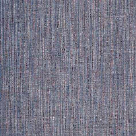 Casadeco Bahia Wallpapers Effet Vertical Wallpaper - Blue/Red - 26586109