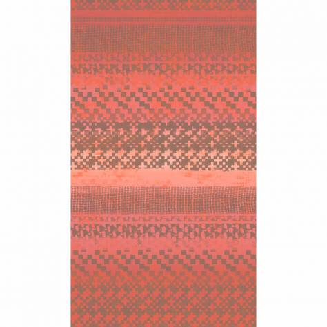 Casadeco Bahia Wallpapers Textile Wallpanel - Coral/Red - 26593103