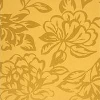 Fleur Wallpaper - Yellow