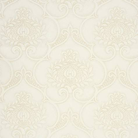 Casadeco Midnight 3 Wallpapers Ornement Wallpaper - Light Grey - 26461131