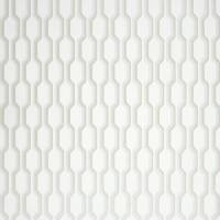 Nid D'abeille Wallpaper - White