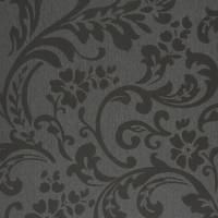 Arabesque Wallpaper - Black