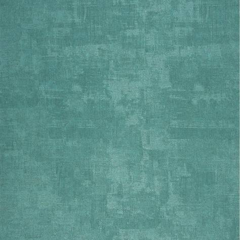 Casadeco Majestic Wallpapers Uni Wallpaper - Turquoise - 26376101