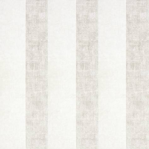 Casadeco Majestic Wallpapers Rayure Wallpaper - White - 26380126