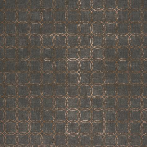 Casadeco Majestic Wallpapers Cercles Wallpaper - Noir - 26399130