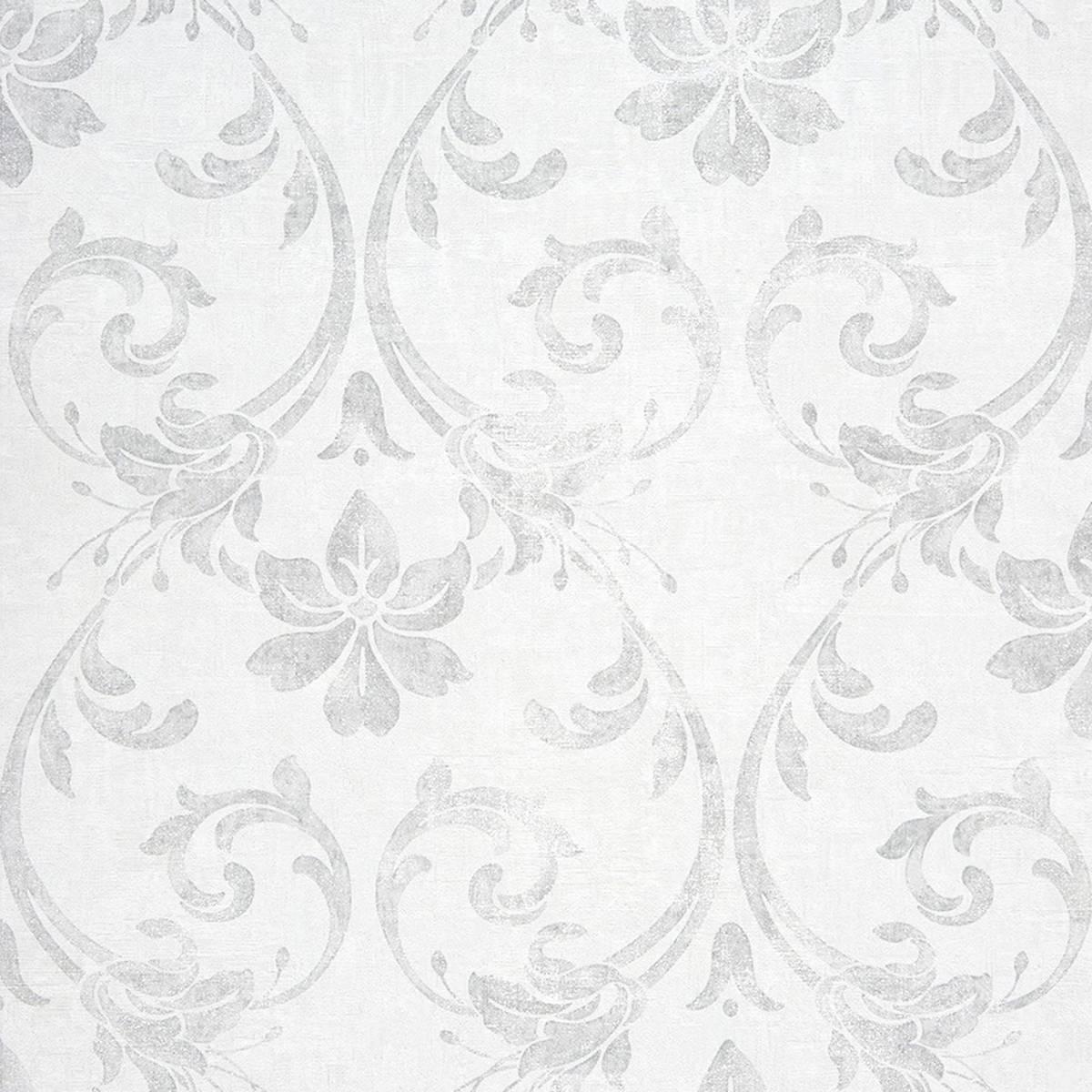 Art nouveau wallpaper white 26400111 casadeco for Art nouveau wallpaper uk
