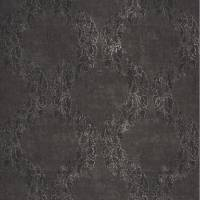 Couronne Wallpaper - Noir/Silver