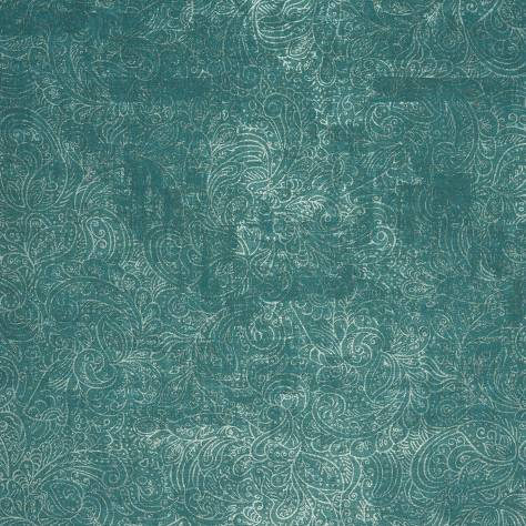 Casadeco Majestic Wallpapers Cachimere Wallpaper - Turquoise - 26436116