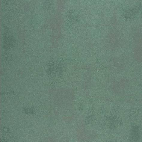Casadeco Empire State Fabrics & Wallpapers Uni Beton Wallpaper - Blue/Emerald - 26746229