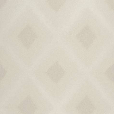 Casadeco Empire State Fabrics & Wallpapers Diamond Wallpaper - Beige - 26761132