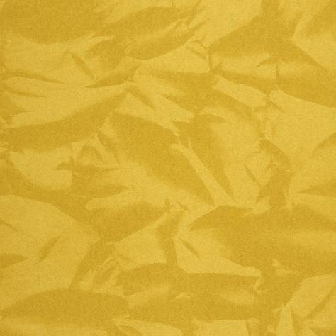 Casadeco Empire State Fabrics & Wallpapers Froisse Wallpaper - Yellow - 26772125