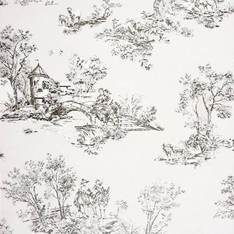 Casadeco Chantilly Fabrics & Wallpapers Allover Jouy Wallpaper - 22919122