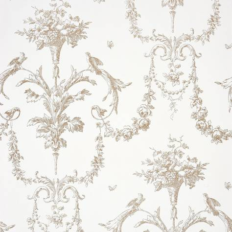 Casadeco Chantilly Fabrics & Wallpapers Corne D'abondance Wallpaper - 22941332