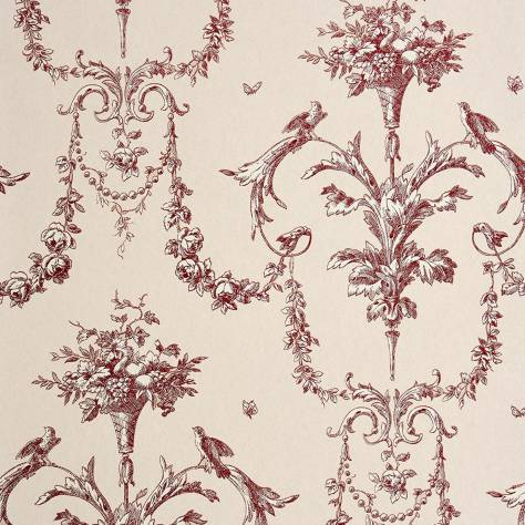 Casadeco Chantilly Fabrics & Wallpapers Corne D'abondance Wallpaper - 22948131