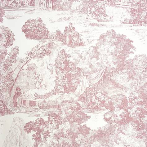 Casadeco Chantilly Fabrics & Wallpapers Scene de Parc Wallpaper - 22974119