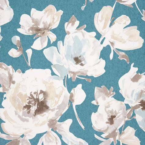 Casadeco Amazing Fabrics & Wallpapers All Over Wallpaper - Turquoise - 26826106
