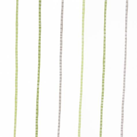 Casadeco Alice & Paul Fabrics & Wallpapers Rayure Wallpaper - Green - 17607431